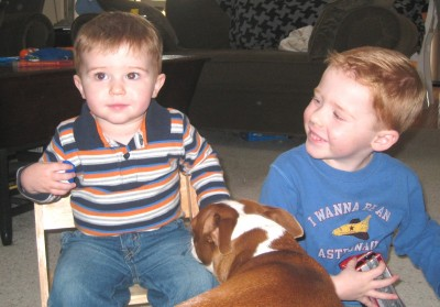 Cooper, Gavin, and Ginger