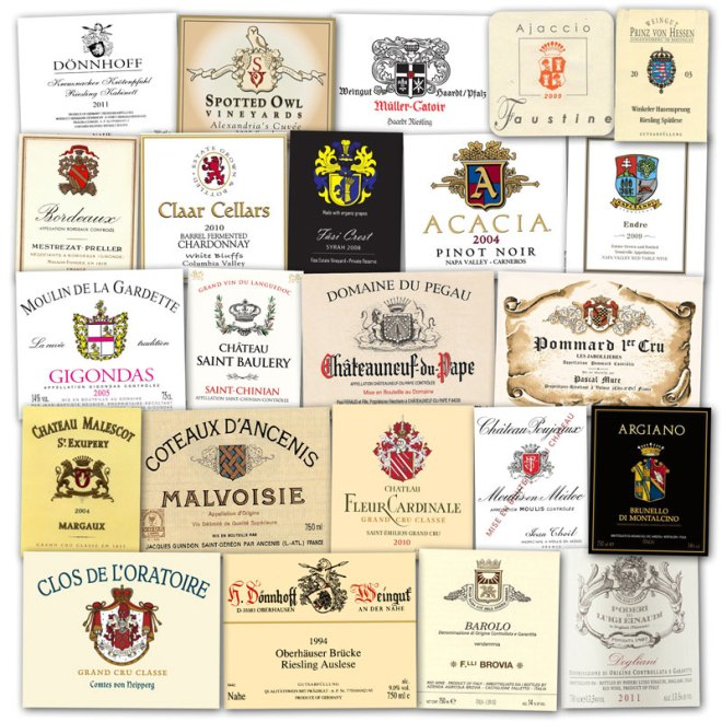 Wine Label Clichés – Coat Of Arms