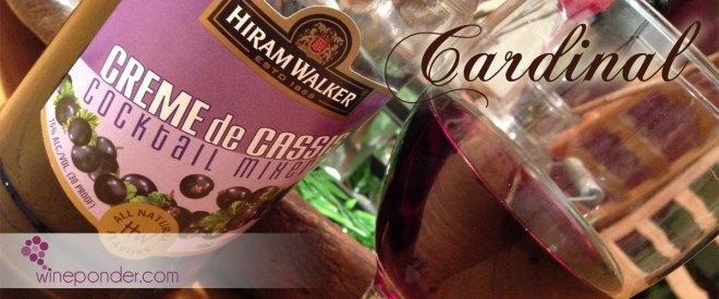 Wine Cocktail – Cardinal