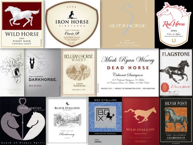Wine With An Animal In The Name – Horse, Stallion & Pony