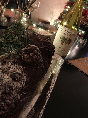 Yule Log Wine Pairing