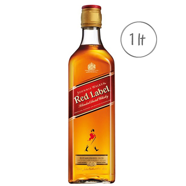Whisky Johnnie Walker Red Label 1LT