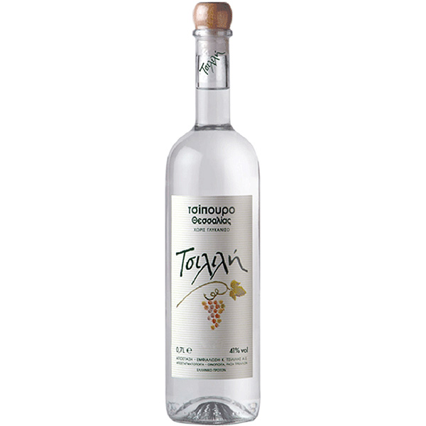 Tsipouro without anise Tsililis