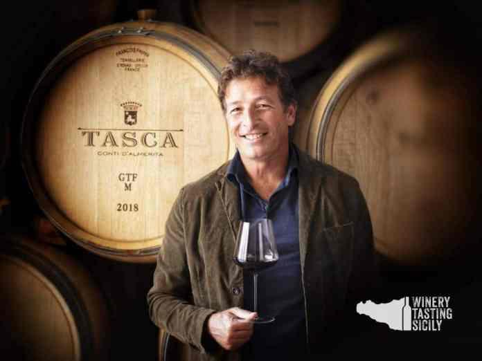 Alberto Tasca produttore della cantina Tasca d'Almerita