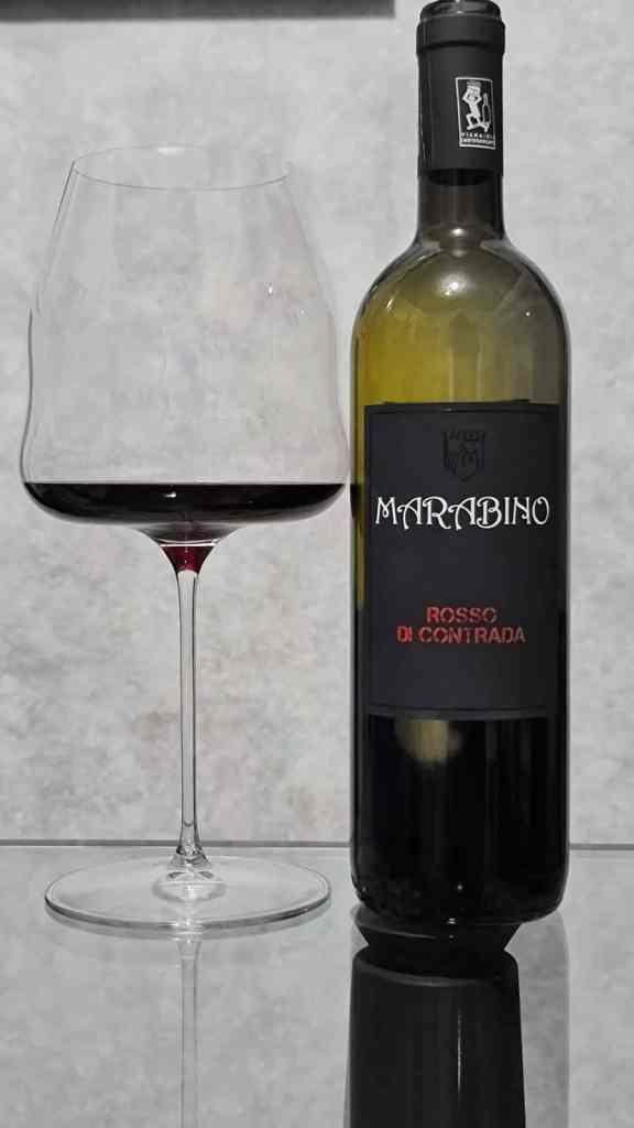 Rosso di Contrada Nero d'Avola 2016 Biodinamico della Cantina Marabino
