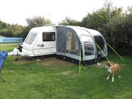 an awning should be compatible with the caravan