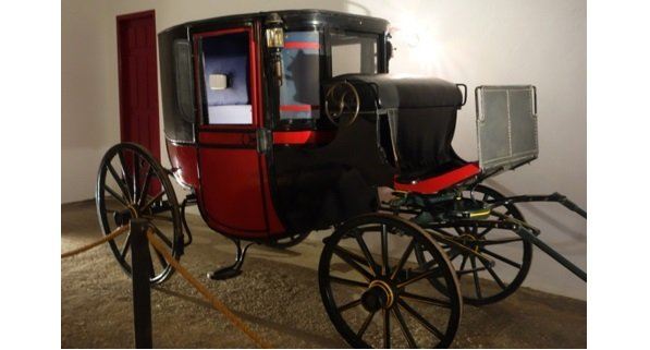 The CVNE winery in Haro has been run as a family business for centuries. This coach was used to tran