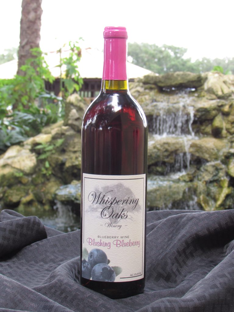 Blushing Blueberry Wine Product Image