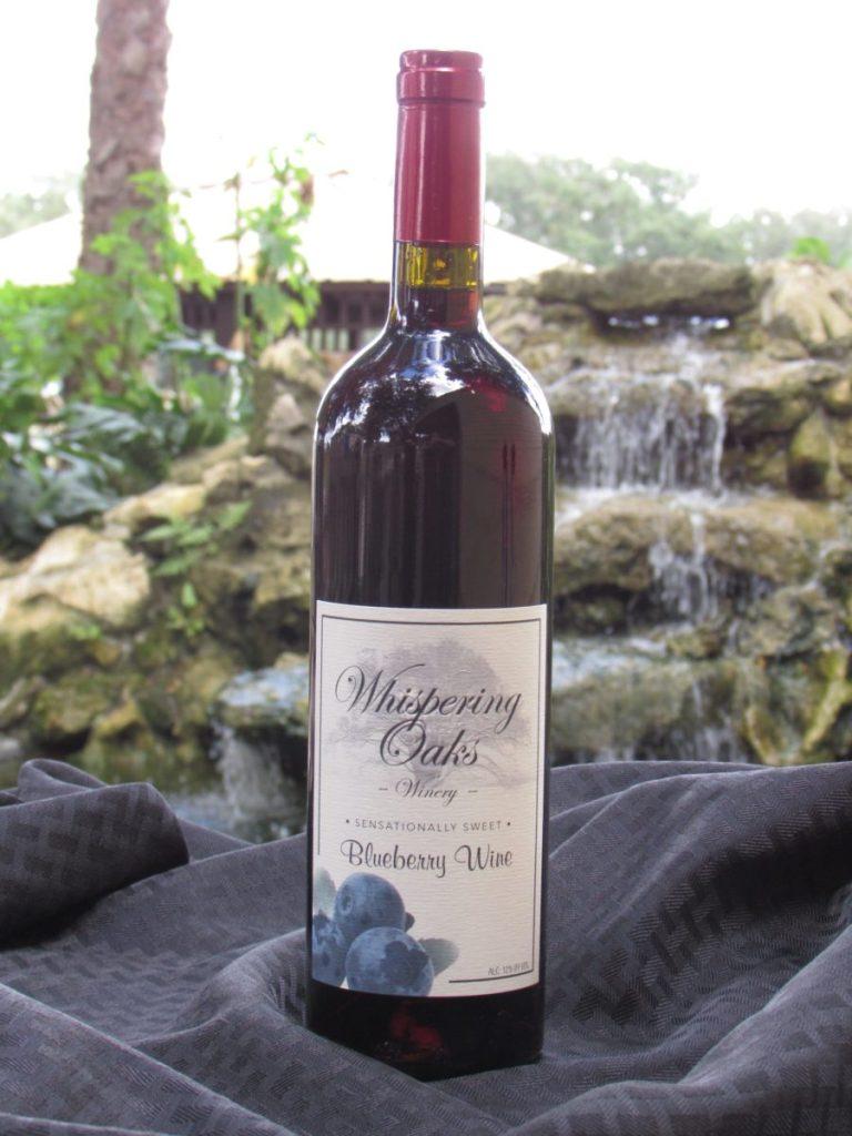 Sensationally Sweet Blueberry Wine Product Image