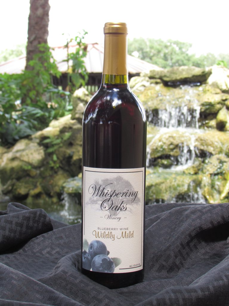 Wildly Mild Blueberry Wine Product Image