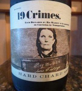 Hard Chardonnay 2016, 19 Crimes