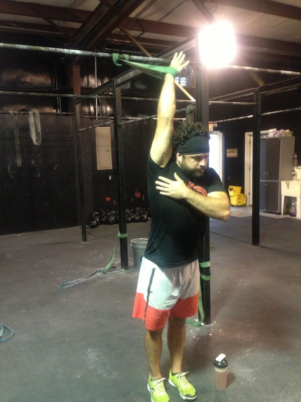 crossfit mobility shoulder mobility shoulder band stretch