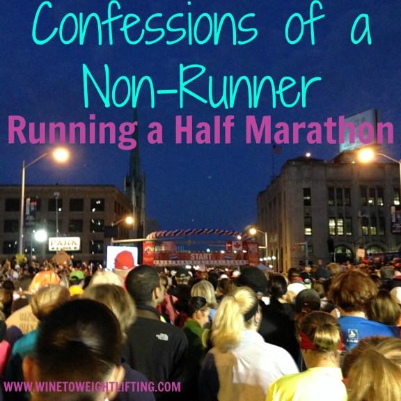 non runner half marathon