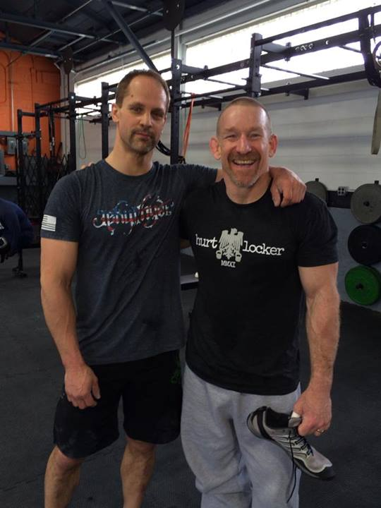 crossfit geriatric club crossfit masters athletes bob boshoven jeff hrubiak