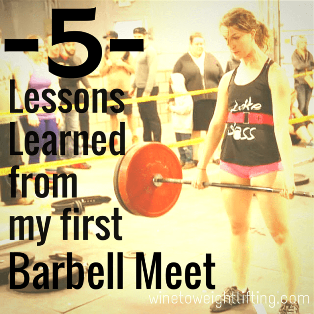 5 Lessons Learned from the lex artis michigan barbell classic meet
