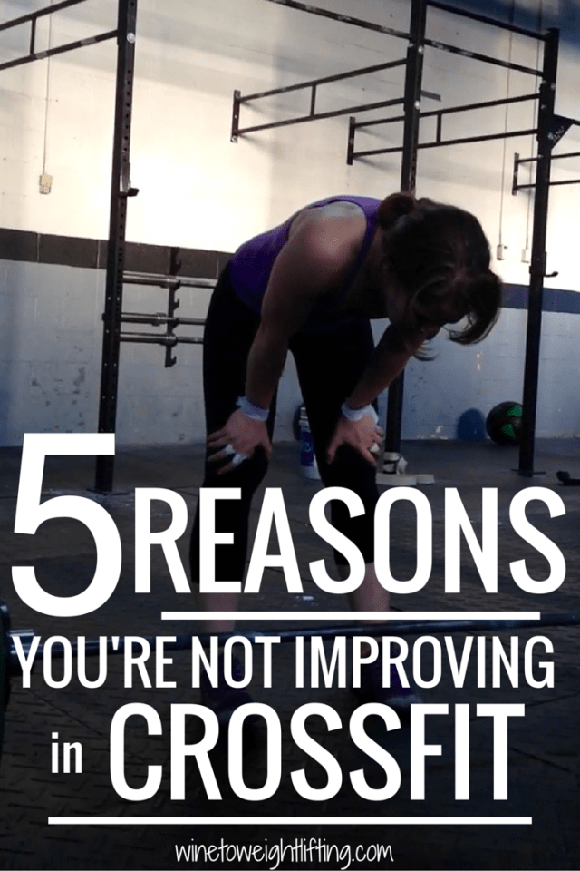 5 Reasons Why You Still Suck at #Crossfit: The days of PRs are over and you have hit a plateau. Are you guilty of these 5 things? #embracethesuck
