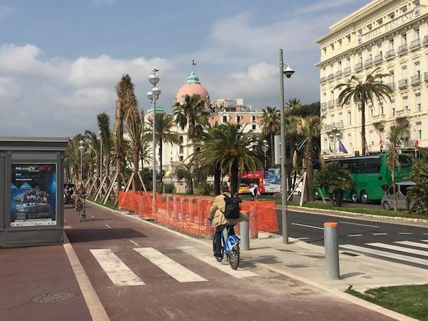 Upgrades to the Promenade des Anglais , Nice