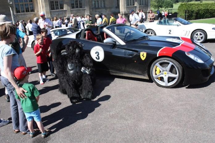 Ferraris in Longleat