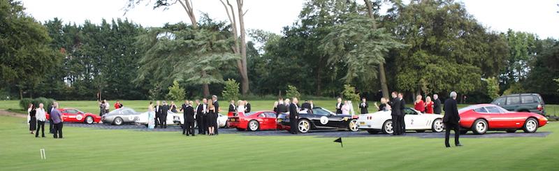 Ferraris at Chewton Glen