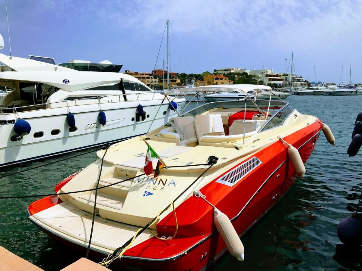 Porto Cervo luxury yachts