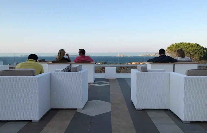 Rooftop Bar atResort Valle Dell'Erica