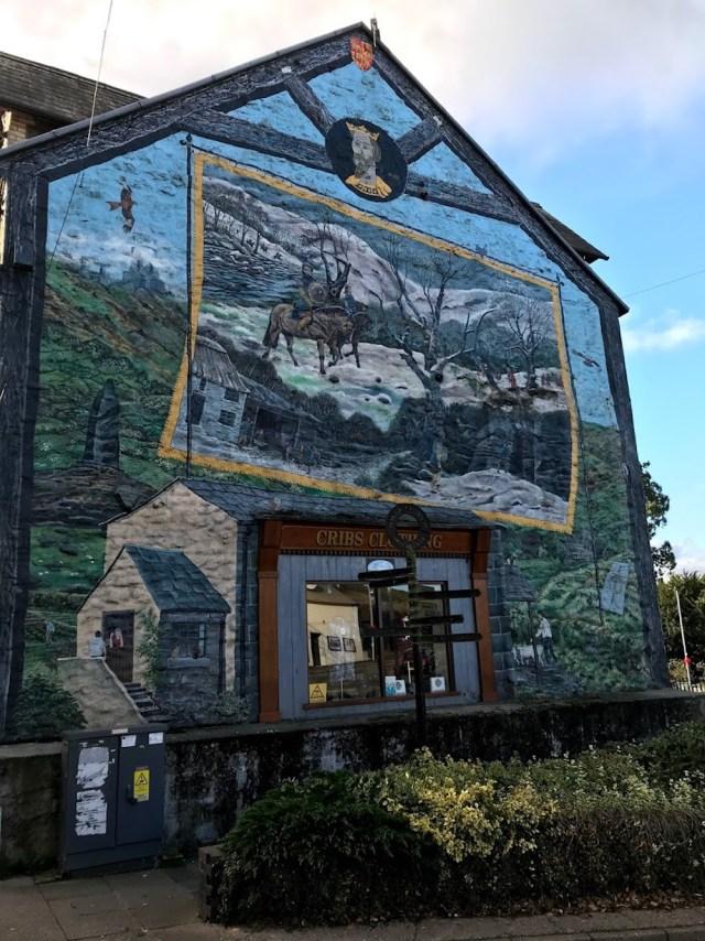 Llywelyn Mural Bullith Wells