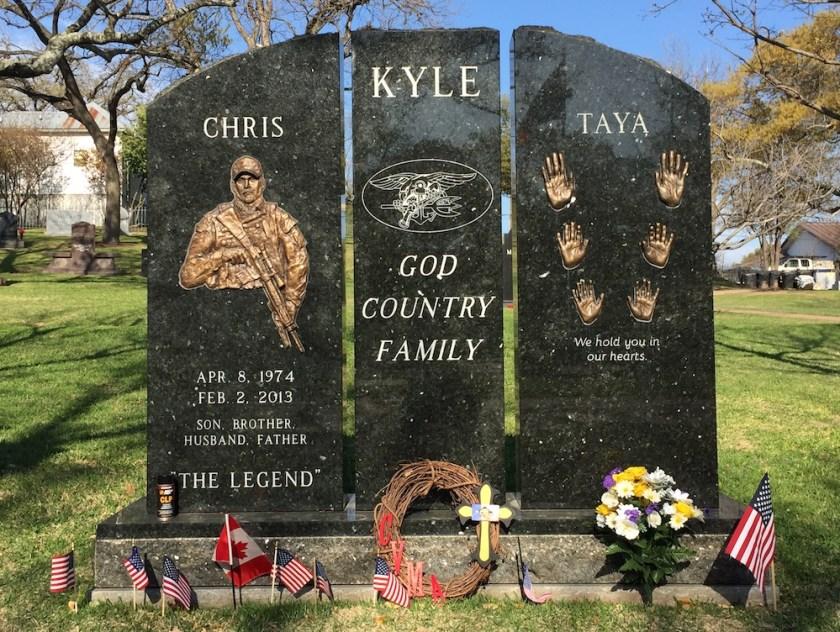 Chris Kyle Grave