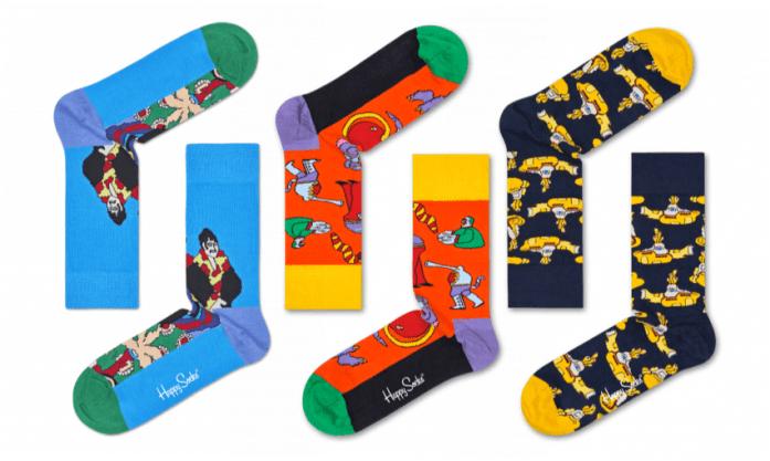 Yellow Submarine Socks