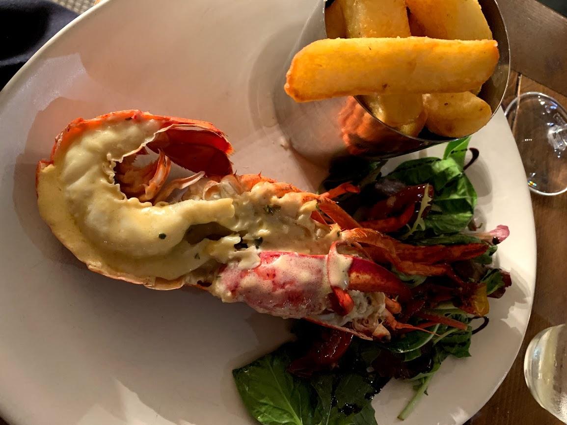 Fresh Suffolk Lobsters at Steak, Lobster & Co.