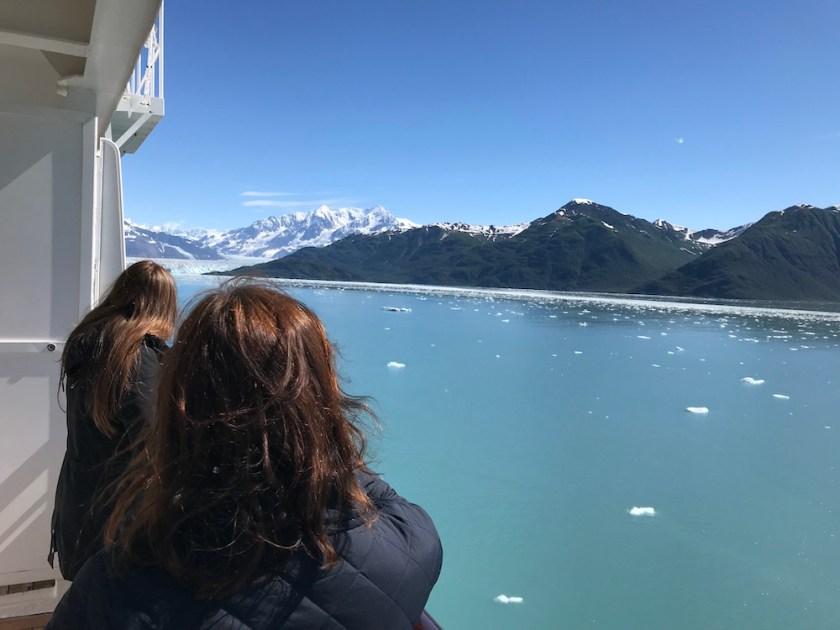 Glacier watching on board Crystal Symphony in Alaska