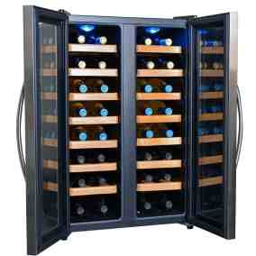 NewAir 32 Bottle Dual Zone Thermoelectric Wine Cooler