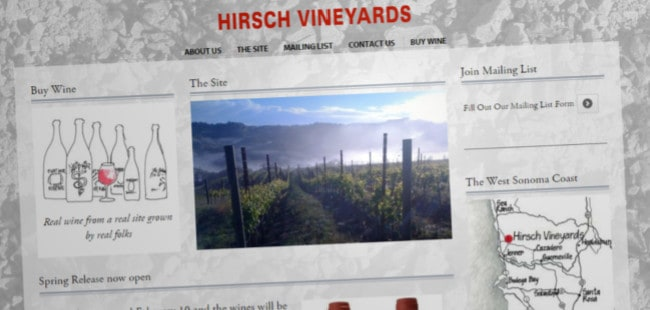 Hirsch Vineyards