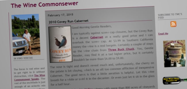 The Wine Commonsewer