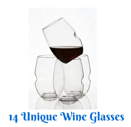 14 Unique Wine Glasses