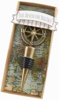 Kate Aspen Our Adventure Begins Wine Stopper