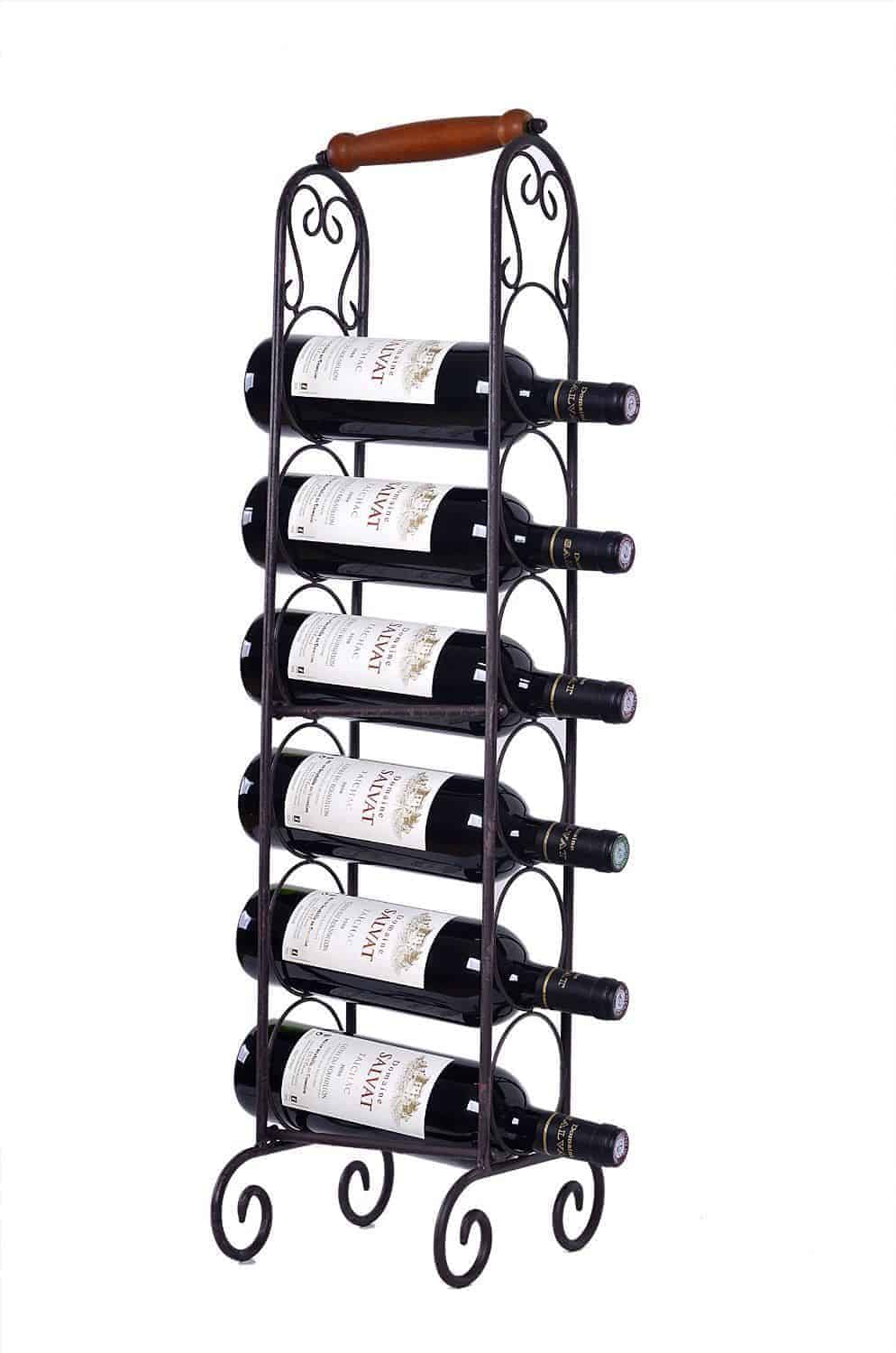 welland metal wine rack stand