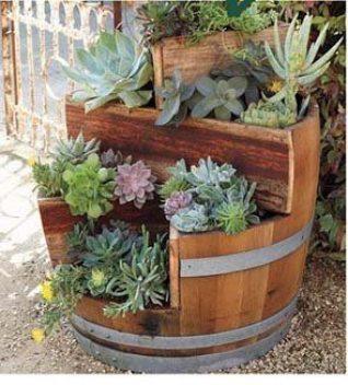 barrel garden. Wine Barrels For Sale As Garden Planters Barrel
