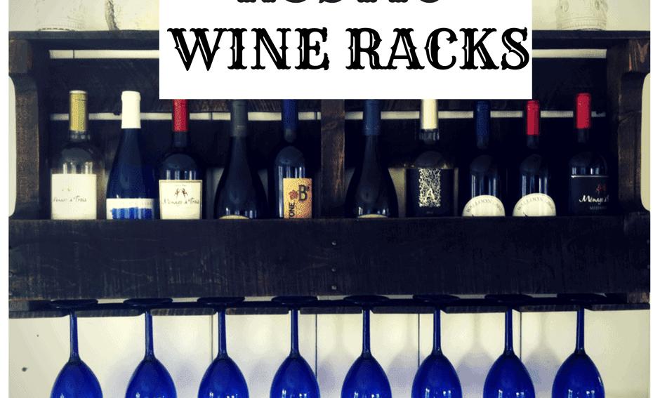 Rustic Wine Racks