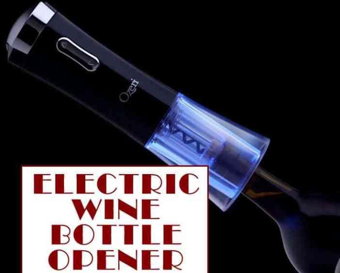 electric wine bottle opener