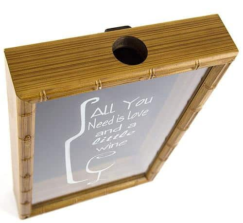 Collectible Cork Frame (19x12x2, All You Need Is Love And Little Wine)