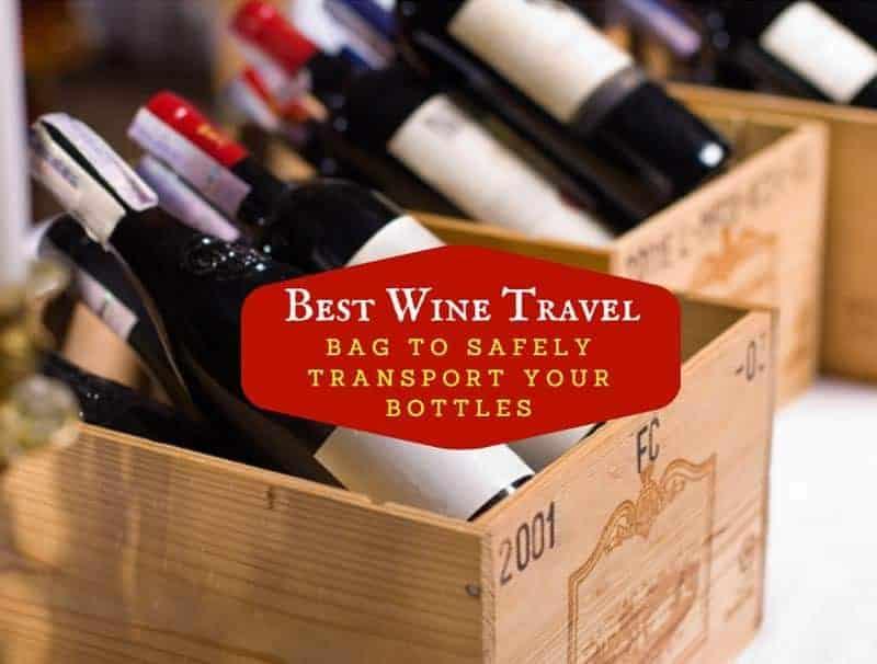 Best Wine Travel Bag To Safely Transport Your Bottles