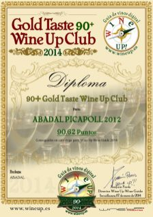 ABADAL 356.gold.taste.wine.up.club