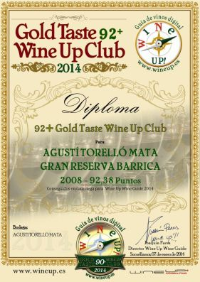 AGUSTI TORELLO GRB08 139.gold.taste.wine.up.club