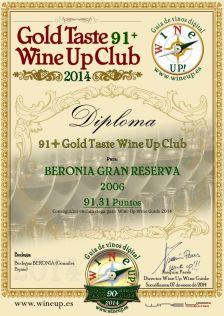 BERONIA GB 264.gold.taste.wine.up.club
