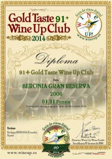 BERONIA GB 264.gold.taste.wine.up.club