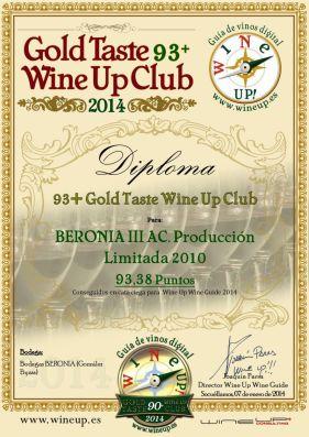 BERONIA GB 83.gold.taste.wine.up.club