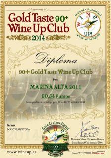 BOCOPA 373.gold.taste.wine.up.club
