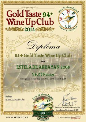 BODEGAS ARRAYAN 47.gold.taste.wine.up.club