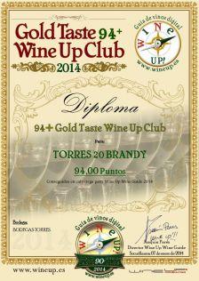 BODEGAS TORRES - TORRES 20.gold.taste.wine.up.club