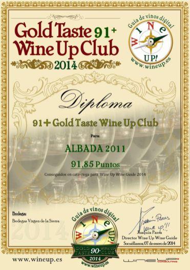 BODEGAS VIRGEN DE LA SIERRA 187.gold.taste.wine.up.club